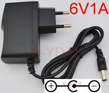 AC/DC 6V 1A Switching Power Supply adapter Reverse Polarity Negative Inside EU