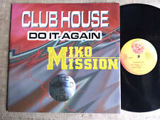 Miko Mission / Club House ‎– The World Is You / Do It Again - - vinyl 12'