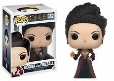 Funko POP! Once Upon A Time: Regina With Fireball - TV Vinyl Figure 382 NEW