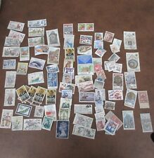 STAMP COLLECTOR! Stamps Used and some New Danmark RSA Helvetia Ceskolovensko USA