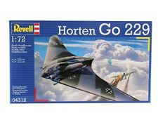 REVELL Horten Go 229 Jet Fighter Aircraft Model Kit 1:72 Scale - 04312