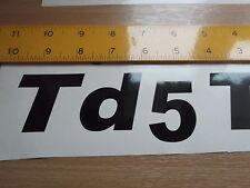 TD5 STICKER    - 4X4, LAND ROVER, DEFENDER x2