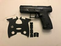 HANDLEITGRIPS Laser Cut Textured Rubber Grip Tape Wrap Gun Part for CZ P10C