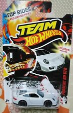HOT WHEELS TEAM 2012 TOP RIDES PORSCHE 911 GT2 WHITE