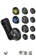 iPhone Camera Lens Kits - Pretmess 4K HD 11 in 1 Aspherical Wide Angle Lens