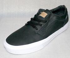 Vans Chapman Stripe Sneakers Leder Skater Herren Schuhe Boots Gr. 42 US9 Schwarz