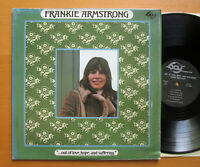 Frankie Armstrong Out Of Love Hope And Suffering 1974 EXCELLENT Vinyl BAY 206