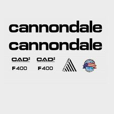 Cannondale F400 CAAD2 Bicycle Decals, Transfers, Stickers: n.960