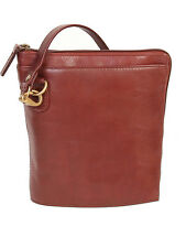 Scully H521 Hidesign Cognac Shoulder Bag Handbag