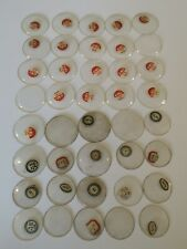 Job Lot of 40 Vintage Watch Crystals Similar Sizes - Watchmakers NOS (CH14)