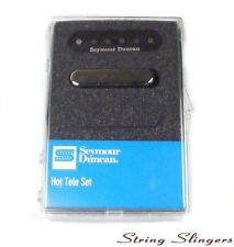 Seymour Duncan 11208-11 'Hot Tele' Pickup Set for Telecaster Black/Chrome