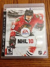 NHL 10 (Sony PlayStation 3, 2009) PS3