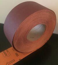 50 MTS ROLLER PAPER ABRASIVE P180 80MM NORTON