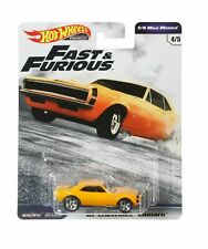 HOT WHEELS GBW87 FAST & FURIOUS 1/4 MILE MUSCLE '67 CHEVROLET CAMARO 4/5 (D)