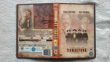 Tombstone Directors Cut  DVD RARE UK R2 Kurt Russell - Val Kilmer 2 DISC WESTERN