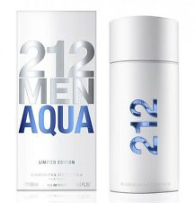 212 MEN AQUA by CAROLINA HERRERA EDT 3.4 oz/100ml SPRAY COLOGNE