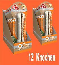 8in1 Delicias Fuerte hueso para Roer L 12 unidades, kauende perros Comida
