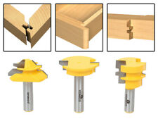 "3 Bit Joinery Router Bit Set - 1/2"" Shank - Yonico 15336"