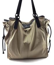Burberry Buckleigh Beige Nylon Shoulder Tote Handbag, Women's