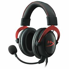 HyperX Cloud II Gaming Headset for PC PS4 Xbox One Nintendo Switch KHX-HSCP-RD