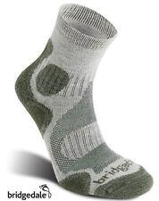 Bridgedale Coolfusion TRAIL DIVA Womens Hiking Socks Stone/Sage, S,M or L