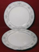 NORITAKE china COLBURN 6107 pattern Salad Dessert Plate Set of Two (2) - 8-1/4""