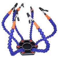 6 Bracci di saldatura flessibili Supporto per PCB di terza mano Strumento aiuto