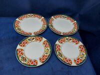 """Vintage Gibson Designs """"WINDSOR"""" Set/4 Plates (2)Dessert & (2)Bread Plates"""