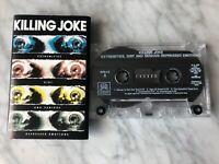 Killing Joke Extremities, Dirt & Various Repressed Emotions Cassette Tape 1990