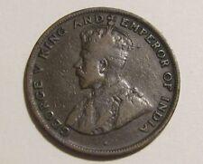 Hong Kong 1919-H 1 Cent Coin
