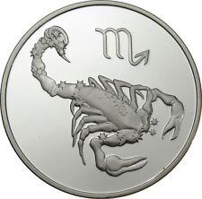 3 Rubel 2003 - Russland - Tierkreiszeichen - Skorpion - Proof - 1 oz Ag