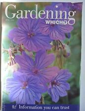 Gardening Which? Magazine. April, 1998. Information you can trust.