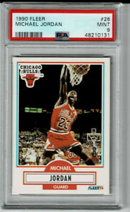 1990-91 Fleer Michael Jordan #26 PSA 9 MINT