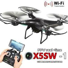 X5SW-1 Wifi FPV 2.4Ghz RC Quadcopter Drone with 2MP HD Camera RTF UAV Black dron