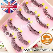 5 pairs SUPER NATURAL LASHES Wispies False Eyelashes Fake Falsies Eye MAKEUP UK