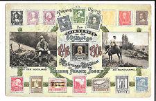Kaiser Franz Josef Zur Erinnerung an Das Jahrige 1848 - 1908 Philatelic PPC