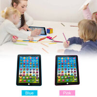 Educational Baby Tablet Boys Girls Toy For 1-6 Year Old Toddler Learning English