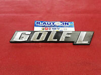 "TARGHETTA EMBLEM Badge fregio ""GOLF  L"""