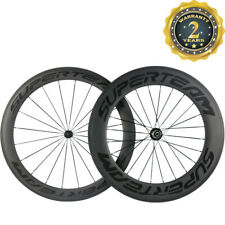 SUPERTEAM 23mm Width 60/88 Carbon Wheels Road Bike Clincher Bicycle R13 Hub 700C