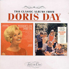 Wonderful Day/With A Smile & A Song by Doris Day (CD, Mar-2003, Sony)