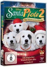 Walt Disney Dvd Sant Pfote 2 Die Weihnachts-Welpen!Neu!!