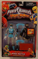 Power Rangers Ninja Storm Blue Wind Ninja Battle Power Ranger Bandai (MOC)