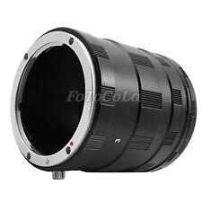 Macro Extension Tube 3 Ring Set For Nikon AF AI DSLR & SLR Camera Lens