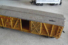 Vintage 1956 Revell HO Scale Union Pacific Weathered Cattle Car
