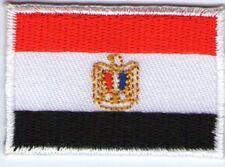 écusson ECUSSON PATCHE PATCH THERMOCOLLANT DRAPEAU EGYPTE DIM. 4,5 X 3 CM