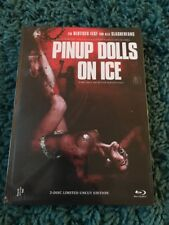 Pinup Dolls On Ice Blu Ray Mediabook Horror Gore Impulse Pictures NEW