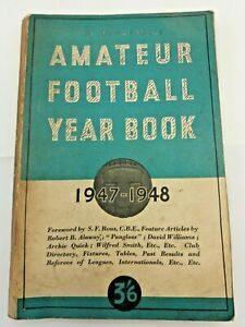 Amateur Football Yearbook 1947 - 1948 Non League Year Book