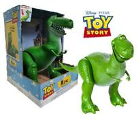 "Toy Story Deluxe Talking Rex Dinosaur 14"" Figure"