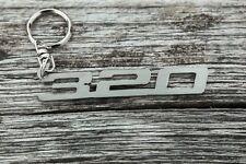 BMW 320 Keychain keyring stainless steel Schlüsselanhänger for  e46 e36 e30