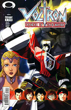VOLTRON DEFENDER OF UNIVERSE #1A SIGNED BY ARTIST MIKE NORTON